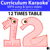 '12 TIMES TABLE' ~ Curriculum Song Video l Distance Learning