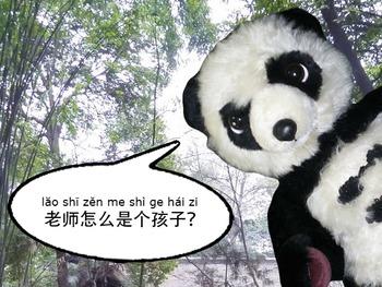 书童&胖大 12 : 孩子hái zi ( Learning Chinese with comics.)