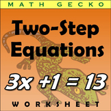 #122 - Two-Step Equations Riddle