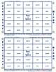 #14 OU and OW Words Bingo Card Game