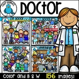 Doctor Clip Art Bundle - Chirp Graphics