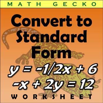 #151 - Convert to Standard Form