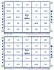 #16 AR Words Bingo Card Game