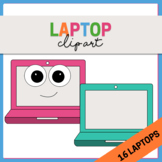 School Clipart - Laptops {Technology/Computer Science}