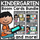 Mega Bundle Kindergarten Math and Literacy Boom Cards | GR