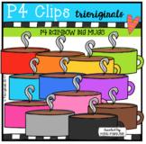 P4 RAINBOW Big Mugs (P4 Clips Trioriginals)