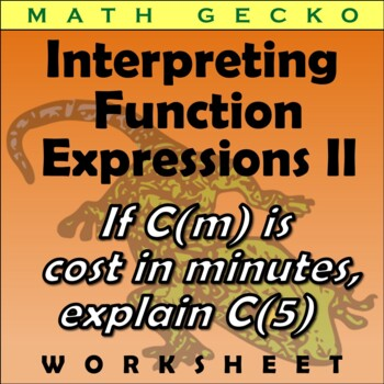 Interpreting Function Expressions