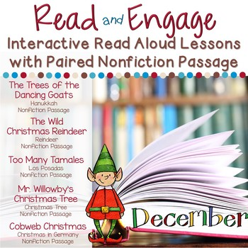 #thankful4u Interactive Read Aloud Lessons & Paired Nonfiction Passages December