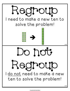 {1st Grade Common Core 1.NBT.C.4} 2-Digit Addition Regrouping Sort Math Center