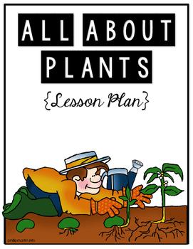 {1st Grade} Seeds & Plant Parts Lesson Plan