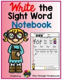$2.50 off 48 hrs Write the Sight Word Notebook