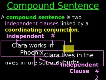 #2 Compound Sentences and Coordinating Conjunctions