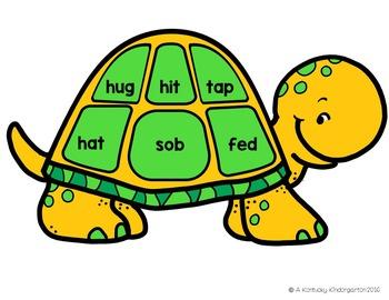 Teaching Turtles: CVC Words
