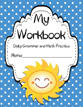 #2 Daily Math and Grammar Practice (5 week packet)