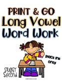 {$2 Deal} Long Vowel Printable Practice Sheets
