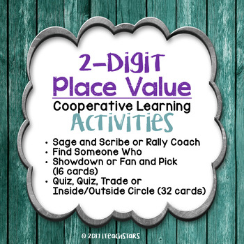 Cooperative Learning: 2-Digit Place Value Activities
