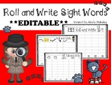 **2 EDITABLE Literacy Games: Roll a Sight Word and Boggle**