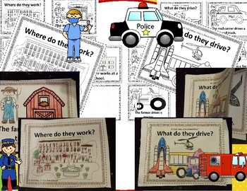 (2) Mini-Books for TRANSPORTATION & OCCUPATIONS