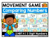 2.NBT.4 - Comparing Three-Digit Numbers Movement Game