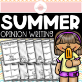 End of the Year Summer Opinion Writing Prompts