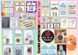 +20 Editable Teacher Appreciation Week Gift Tags and Teacher Gift Ideas