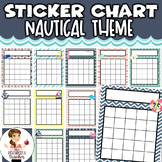 Sticker Chart | Reward Incentive Chart | Nautical Theme