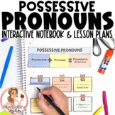 Possessive Pronouns Interactive Notebook and Activities