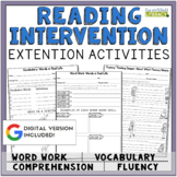 Reading Extensions for the Reading Intervention Program