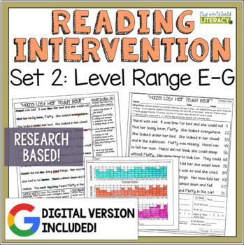 Reading Intervention Program: Set Two Level Range E-G RESE