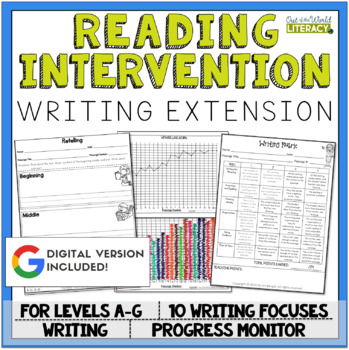 Writing Extension: Levels A-G