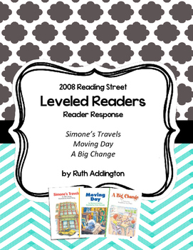 * 2008 Reading Street Recording Sheets for Leveled Readers 2nd Grade