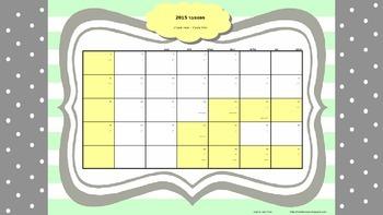 לוח שנה למורה 2015-2016 גרסה 2