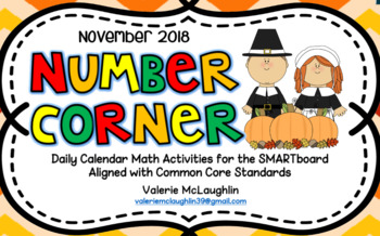 **2018 NUMBER CORNER BUNDLE** February - May 2018