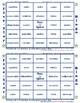#23 -TION Words Bingo Card Game