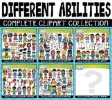 {FLASH DEAL} Different Abilities Clipart Mega Bundle