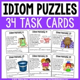 Idiom Puzzles - Task Cards