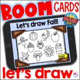 Directed Draw Autumn Fall Boom Cards | How to Draw Fall |
