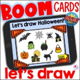Halloween Directed Draw Boom Cards 2 | How to Draw Halloween