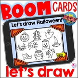 Halloween Directed Draw Boom Cards 1 | How to Draw Halloween