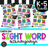 *FLASH SALE* Earth Day K-5 Sight Words Color by Code Printables