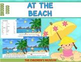 READER BOOK - AT THE BEACH