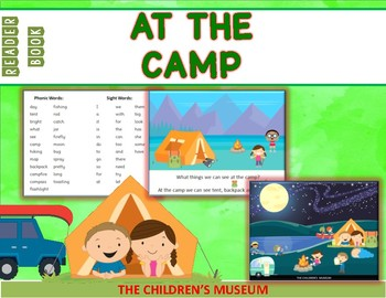 READER BOOK - AT THE CAMP
