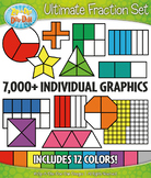 Ultimate Fractions Clipart Bundle – Includes 7000+ Graphics!