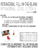(Intraverbal 8M) 25 Fill-In-The-Blank Statements, No Songs