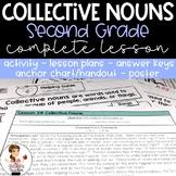Collective Nouns Activity with Lesson Plans, Handout, Post