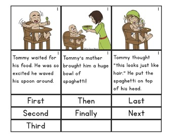 Sequencing Board: Sequencing stories, pictures