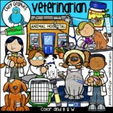 Veterinarian Clip Art - Chirp Graphics