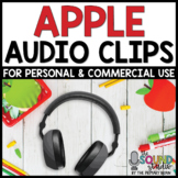 Apple Audio Clips - Sound Files for Digital Resources