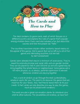 """""""26 Popular Children's games from around the world"""" - PDF"""