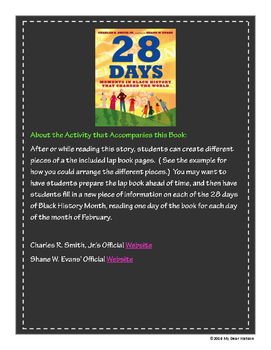 """28 Days:  Moments in Black History That Changed the World"